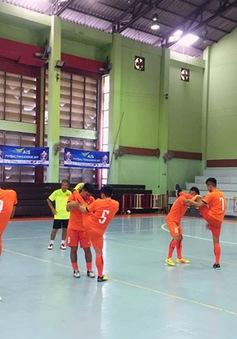 ĐT U20 futsal Việt Nam có buổi tập đầu tiên tại Thái Lan