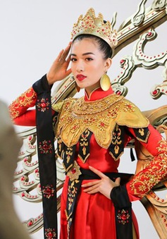 Những hé lộ đầu tiên về quốc phục của Lệ Hằng tại Miss Universe 2016