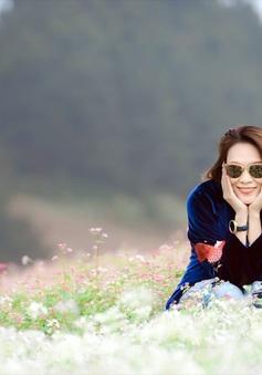 """Mỹ Tâm lại """"đốn tim"""" fan với bộ ảnh siêu dễ thương tại Mộc Châu"""