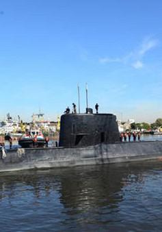 Tàu ngầm Argentina mất tích tại Đại Tây Dương