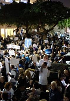 Người dân Israel biểu tình đòi Thủ tướng Netanyahu từ chức