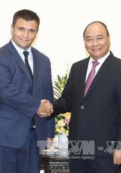 Thủ tướng Nguyễn Xuân Phúc tiếp Bộ trưởng Bộ Ngoại giao Ukraine