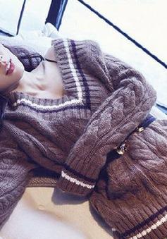 Park Shin Hye cực sang chảnh trên tạp chí Elle