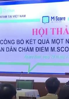 Quảng Bình: Công bố kết quả dự án dân chấm điểm