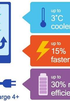 Chuẩn sạc nhanh Quick Charge 4+ ra đời với nhiều cải tiến