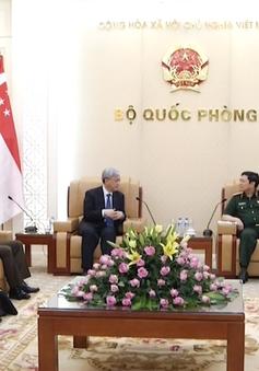 Tạo thuận lợi để hợp tác quốc phòng Việt Nam - Singapore ngày càng phát triển