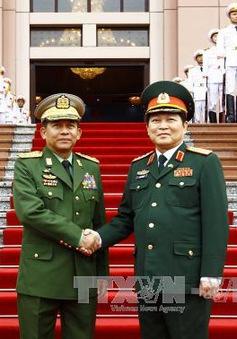 Tăng cường hợp tác quốc phòng Việt Nam - Myanmar