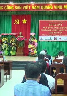 Phú Yên: Ra mắt Quỹ Bảo lãnh tín dụng cho doanh nghiệp nhỏ và vừa