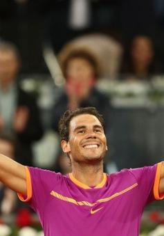 Vô địch Madrid Open, Nadal san bằng kỷ lục với Djokovic