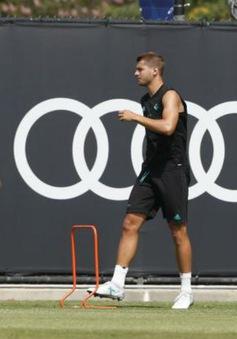 Thủ quân Ramos trở lại tập chung với Real Madird