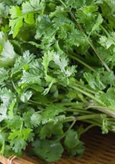 Tác dụng chữa bệnh tuyệt vời của các loại rau thơm