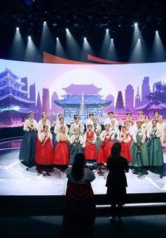 Hình ảnh mới nhất từ trường quay Liên hoan thiếu nhi ASEAN+