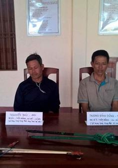 Phát hiện 7 đối tượng sử dụng súng điện khai thác trái phép ven đảo Lý Sơn