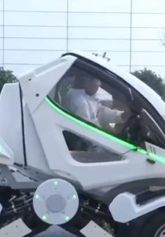 Nhật Bản: Đột phá xe hơi robot có thể gấp gọn