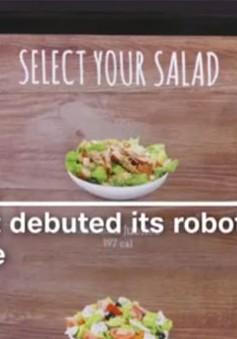 Robot có thể trộn salad