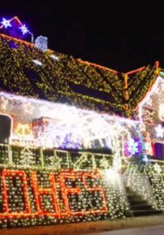 Trang hoàng Giáng sinh với hơn 530.000 bóng đèn