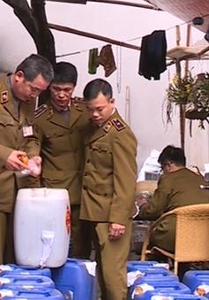 Từ 16/3, Hà Nội ra quân tổng rà soát các cơ sở sản xuất, kinh doanh rượu