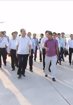 Chủ tịch nước kiểm tra công tác an ninh, lễ tân tại Sân bay Quốc tế Đà Nẵng