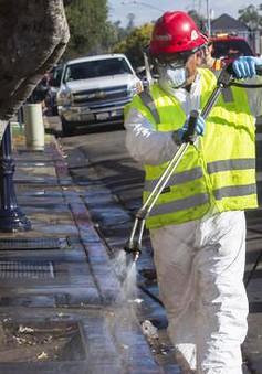 Mỹ: San Diego triển khai vệ sinh đô thị quy mô lớn để trừ dịch bệnh