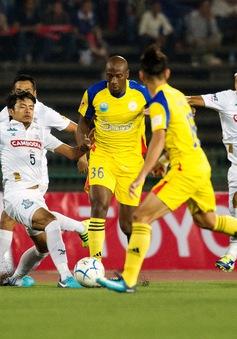 Mekong Cup 2017: Toure tỏa sáng, Sanna Khánh Hòa BVN thắng đậm Boeung Ket Angkor