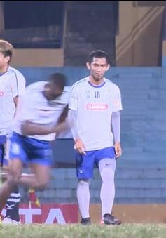 Đối thủ của Sanna Khánh Hòa chuẩn bị cho trận mở màn Mekong Cup 2017