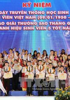 Kỷ niệm 67 năm Ngày truyền thống học sinh, sinh viên