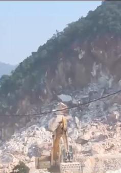 Nghệ An khắc phục hậu quả vụ sập mỏ đá