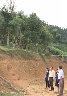 Quảng Ngãi: Người dân vùng cao vẫn phải sống chung với nỗi lo sạt lở