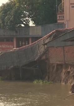 Sạt lở nghiêm trọng tại An Giang: Do dòng chảy hạ lưu bị đói bùn cát