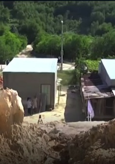 Quảng Nam: Khu tái định cư nhưng không thể… an cư