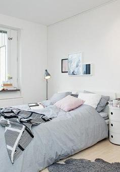 Phòng ngủ phong cách Bắc Âu vừa đẹp, vừa chất cho những ai yêu sự đơn giản