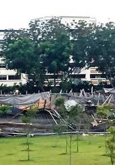 Sập cầu tại Singapore, 1 người thiệt mạng