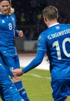 """""""Đảo băng"""" Iceland lập kỷ lục chưa từng có khi giành vé tới World Cup 2018"""