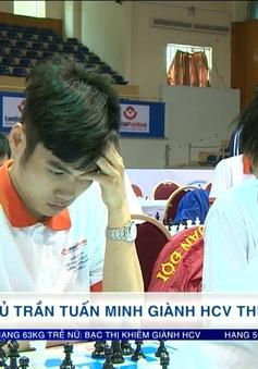 Giải vô địch cờ vua VĐQG 2017: Kỳ thủ Trần Tuấn Minh giành HCV thứ 2