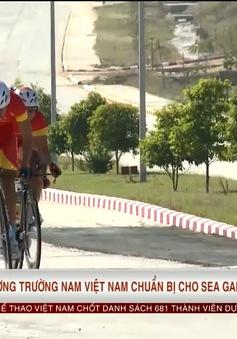 Xe đạp đường trường nam Việt Nam chuẩn bị cho SEA Games 29