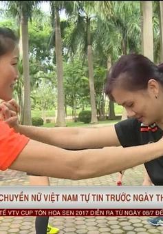VIDEO: ĐT Việt Nam tự tin trước ngày khai mạc VTV Cup Tôn Hoa Sen 2017