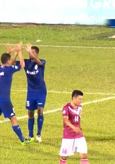 CLB Becamex Bình Dương giành chiến thắng kịch tính trước CLB Sài Gòn