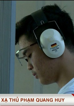 Điểm tựa cho xạ thủ Phạm Quang Huy