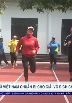 ĐT Vật nữ Việt Nam chuẩn bị cho giải vô địch châu Á
