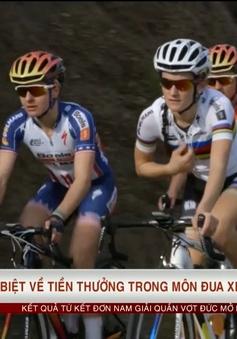 Tình trạng phân biệt đối xử trong môn xe đạp thể hiện qua việc chia tiền thưởng