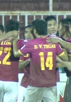 VIDEO: Tổng hợp trận đấu CLB Sài Gòn 4-0 CLB Long An