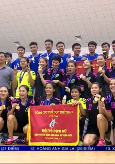 Đoàn TP Hồ Chí Minh giành 2 HCV giải vô địch bóng ném nam nữ toàn quốc 2017