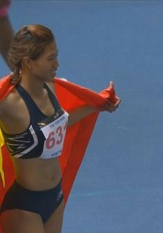 VIDEO SEA Games 29: Về nhất chung kết 100m rào, Yến Hoa giành HCV đầu tiên trong ngày cho Đoàn TTVN