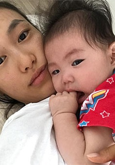 Bạn gái Trần Quán Hy khoe ảnh con gái