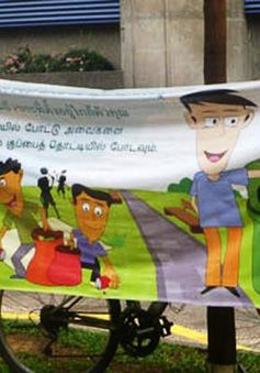 Singapore chống xả rác nơi công cộng ra sao?