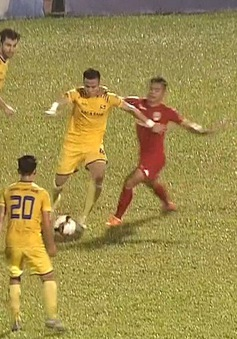 VIDEO: Tổng hợp trận chung kết lượt về Cúp Quốc gia, SLNA 5-1 B. Bình Dương