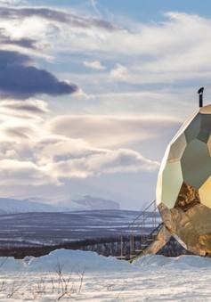 Độc đáo nhà tắm hơi hình quả trứng tại Thụy Điển