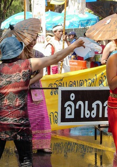 Thái Lan đón Tết cổ truyền Songkran