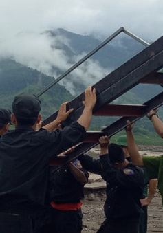 Khắc phục hậu quả mưa lũ tại Sơn La