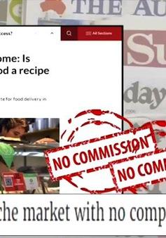 Singapore: Nở rộ startup giao đồ ăn từ quán hàng rong